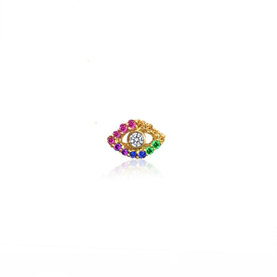 Rainbow Protective Eye Earring