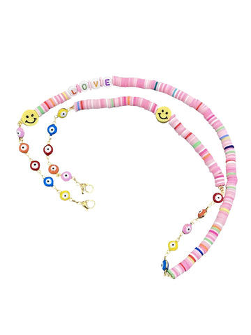 LOVE Pink Candy Chain