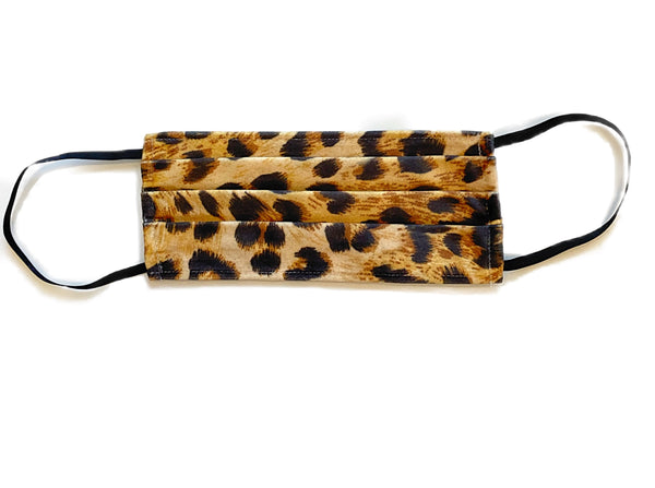 KIDS Face Mask Leopard Print