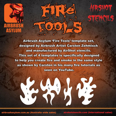 fire tool template set
