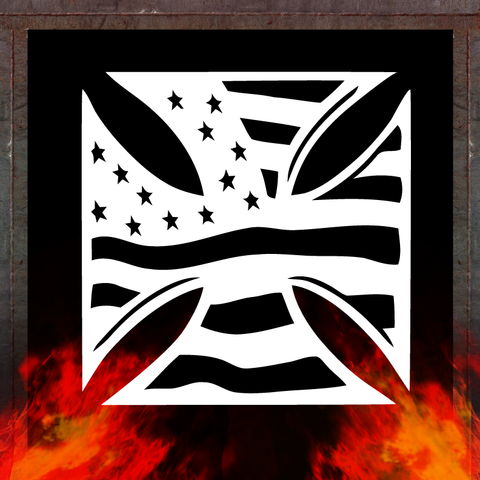 IRON CROSS FLAG
