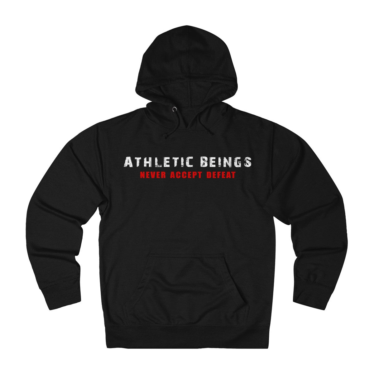 French Terry Lightweight Hoodie - Athletic Beings