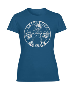 Athletic women short sleeve tee - Athletic Beings