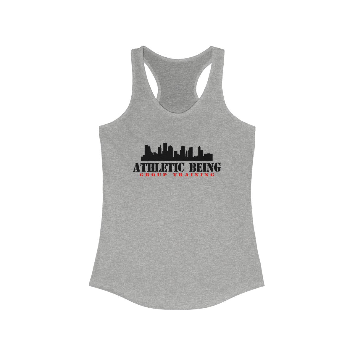 Women's Ideal Racerback Tank - Athletic Beings