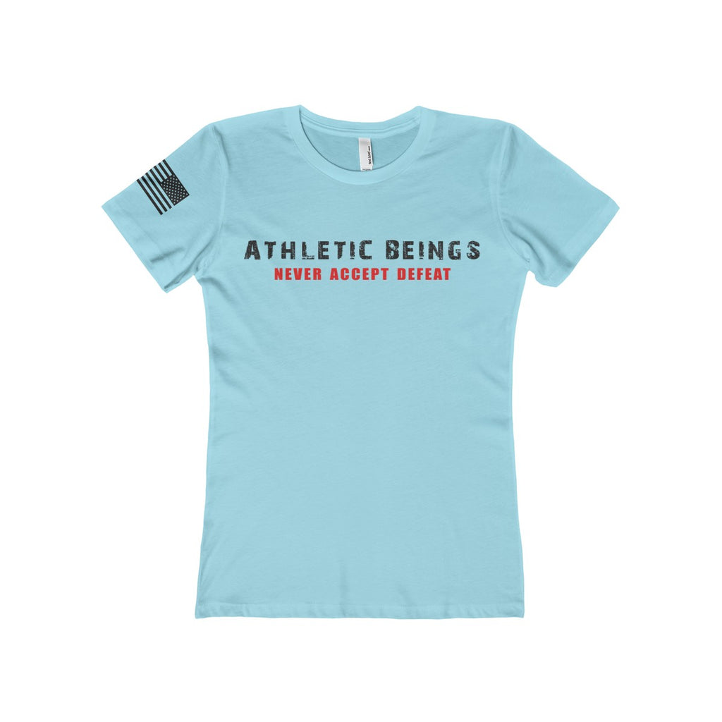 Women's The Boyfriend Tee - Athletic Beings