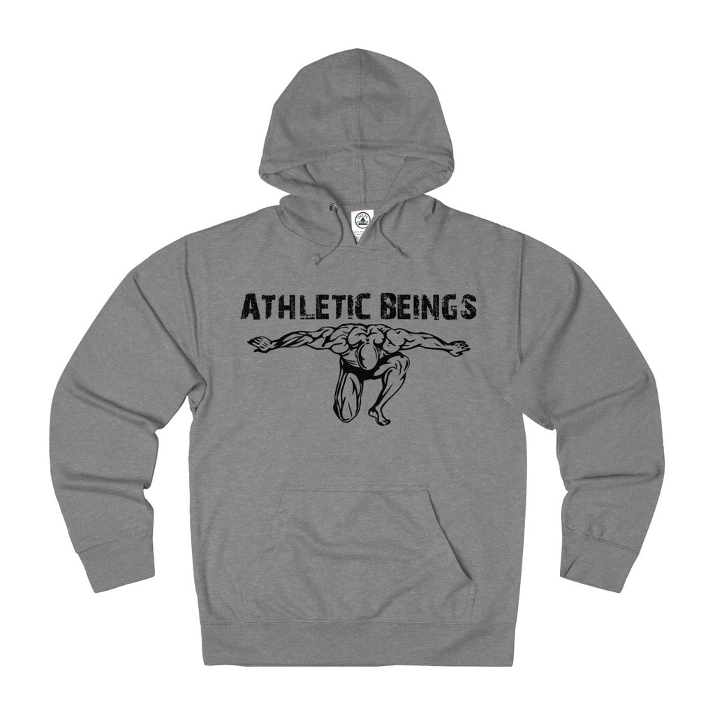Adult French Terry Hoodie - Athletic Beings