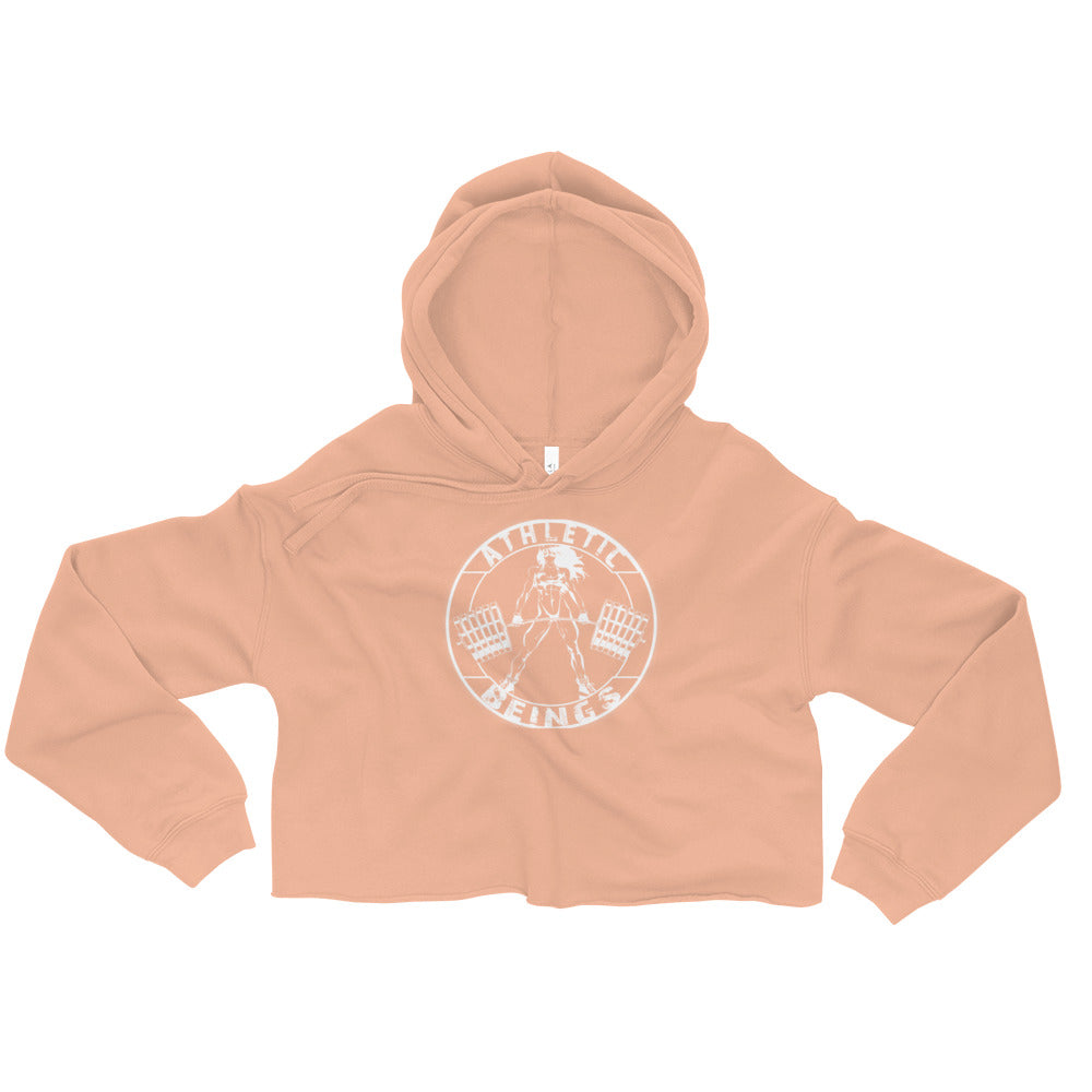 Women's Crop Hoodie - Athletic Beings