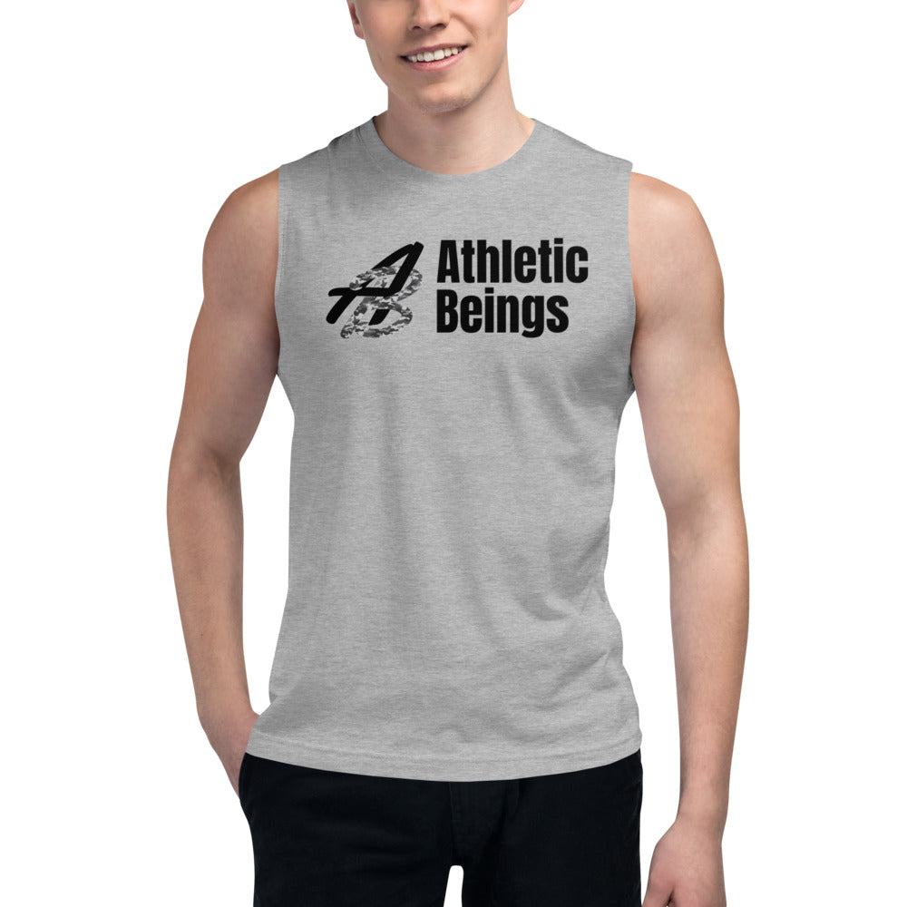 "Sleeveless T ""Camo"" - Athletic Beings"