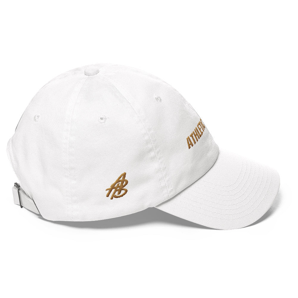 Women's Gold Athletic Beings Hat - Athletic Beings