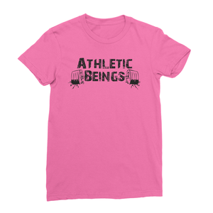 Women's Fine Jersey T-Shirt - Athletic Beings