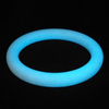 White Bangle glows in the dark sky blue!