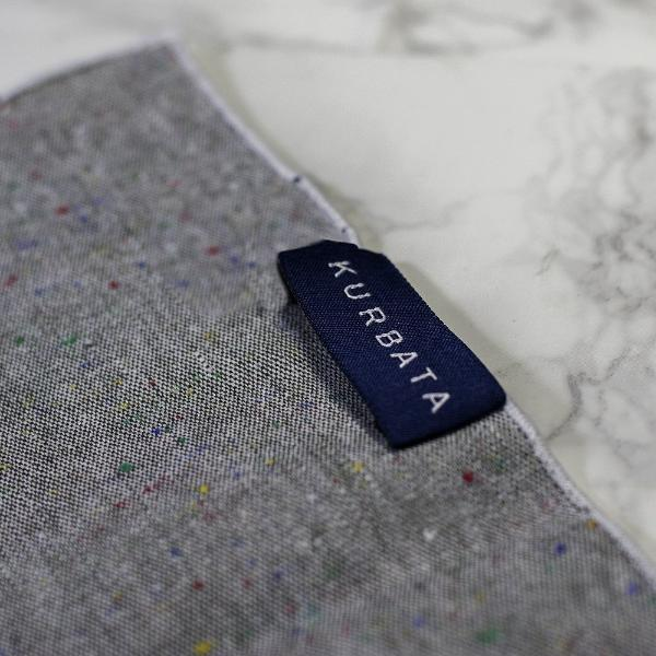 Urban Haze Linen Pocket Square
