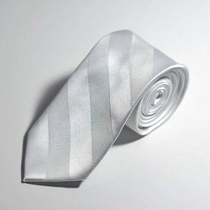 Pearl Polyester Tie