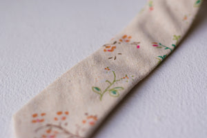 Twill Orchard Floral Tie