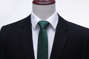 Polka Dot Silk Tie (5 Colors)