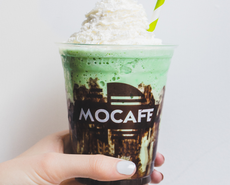Mint Vanilla & Chocolate Frappe