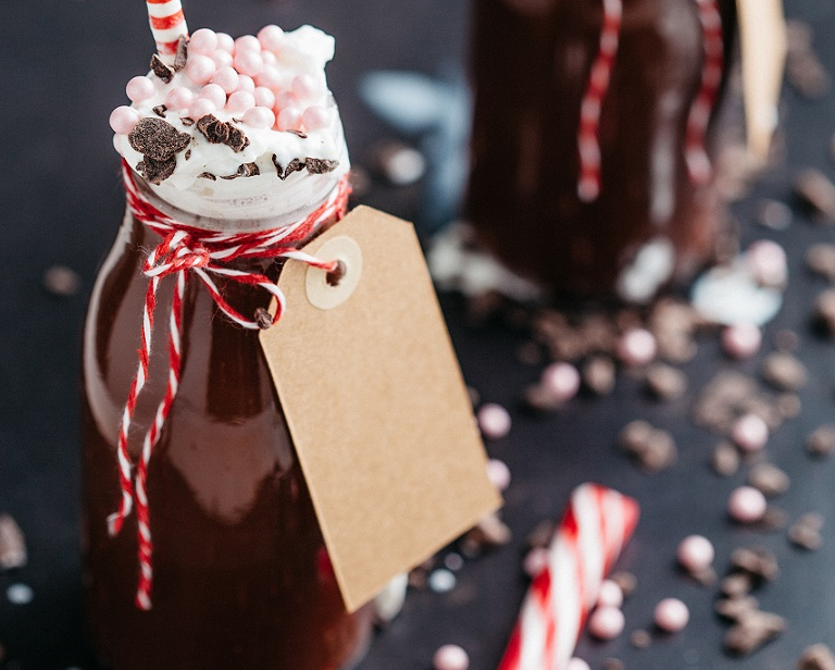 Peppermint Cocoa Freeze