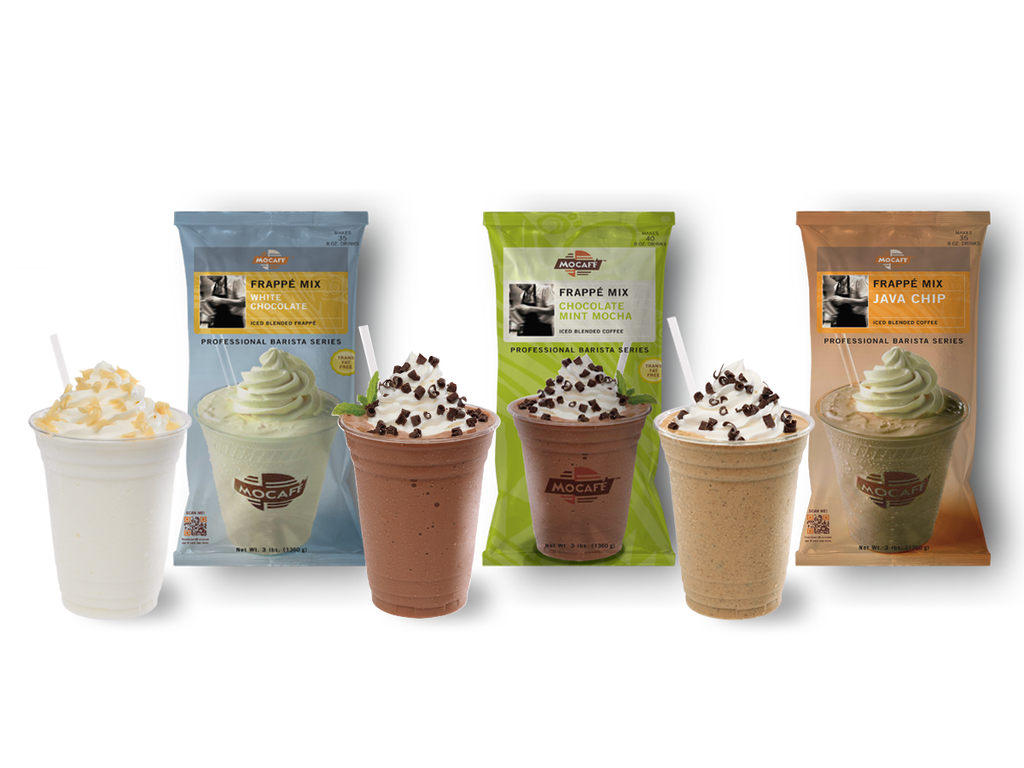 MOCAFE Frappe Bundle - Save 20%