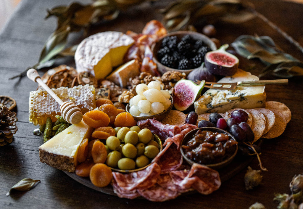 How to style an autumn cheese board