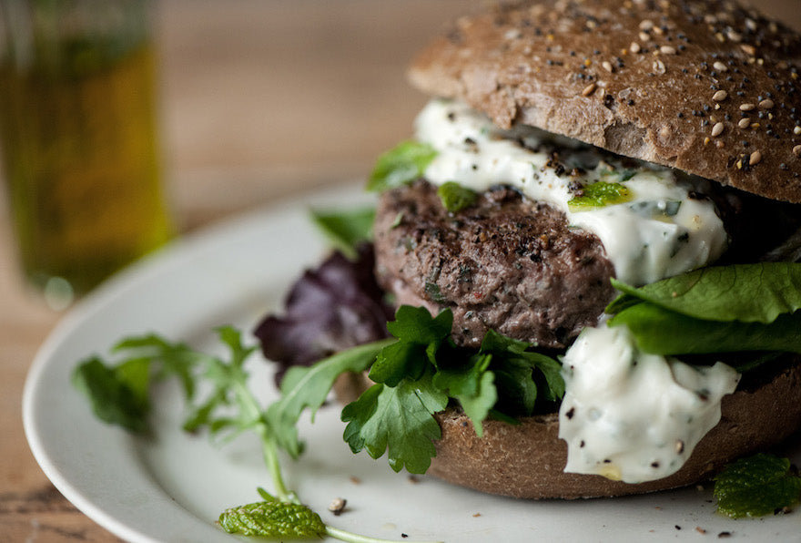 Venison Burgers Cooking ideas