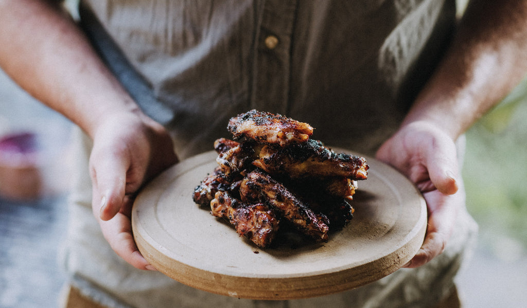 Festive Spiced Chicken Wing Recipe