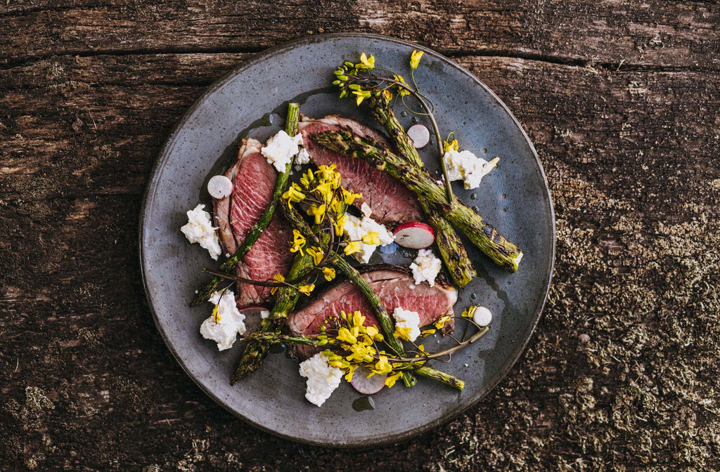 Butterflied leg of lamb recipe