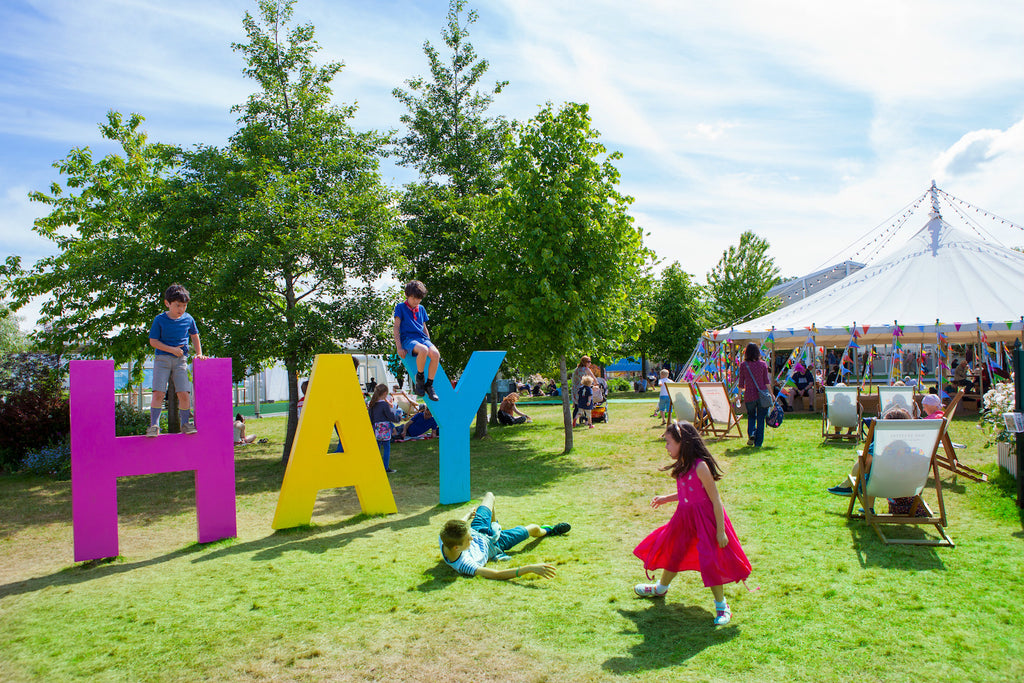 Pipers Farm at Hay Festival