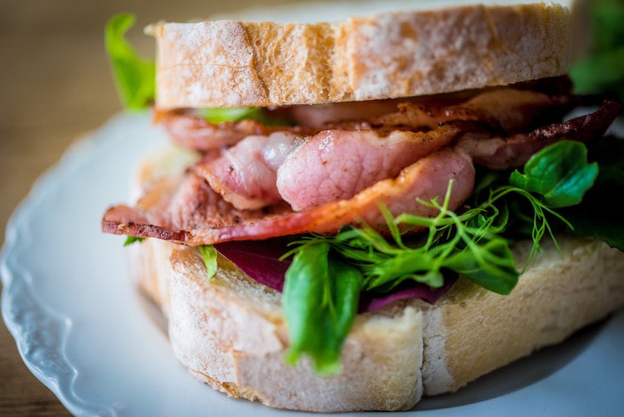 Saddleback Unsmoked Back Bacon Recipes from Pipers Farm