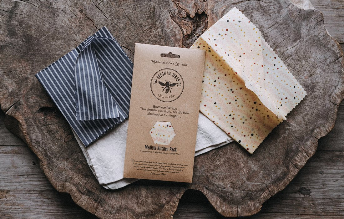 Beeswax Wraps Kitchen Pack