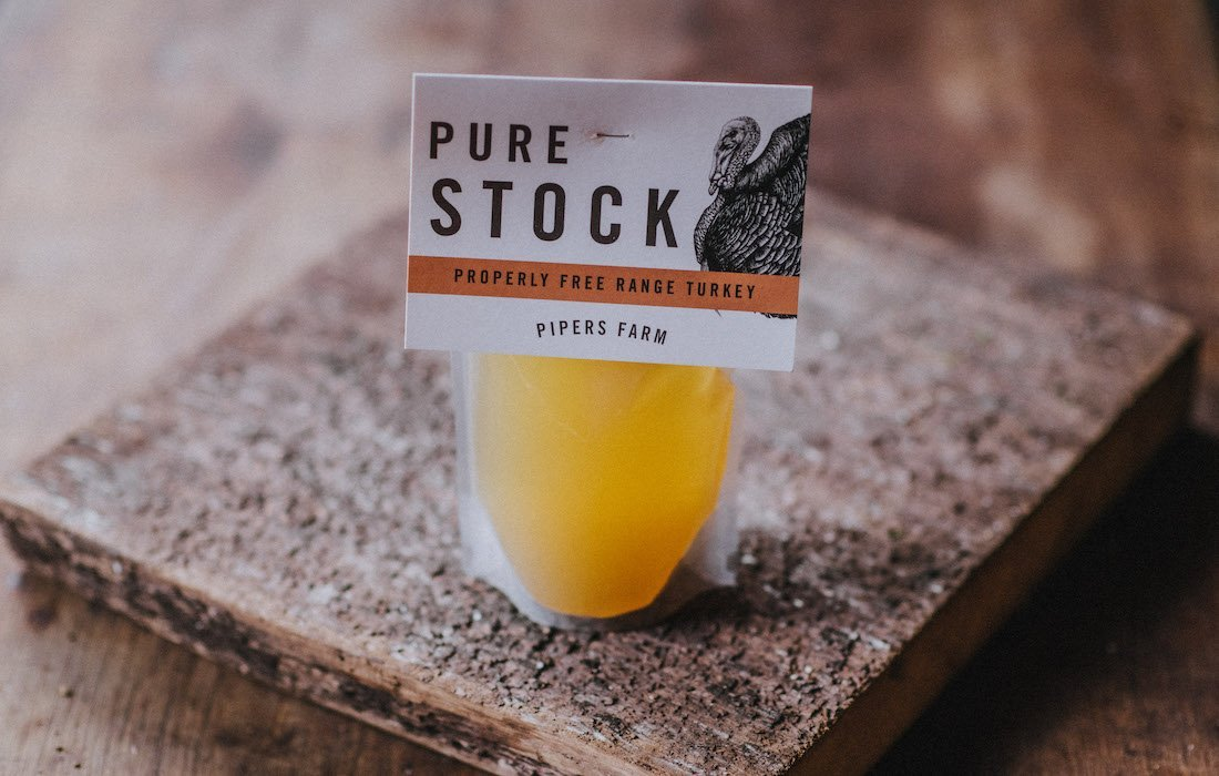 Pure Turkey Stock