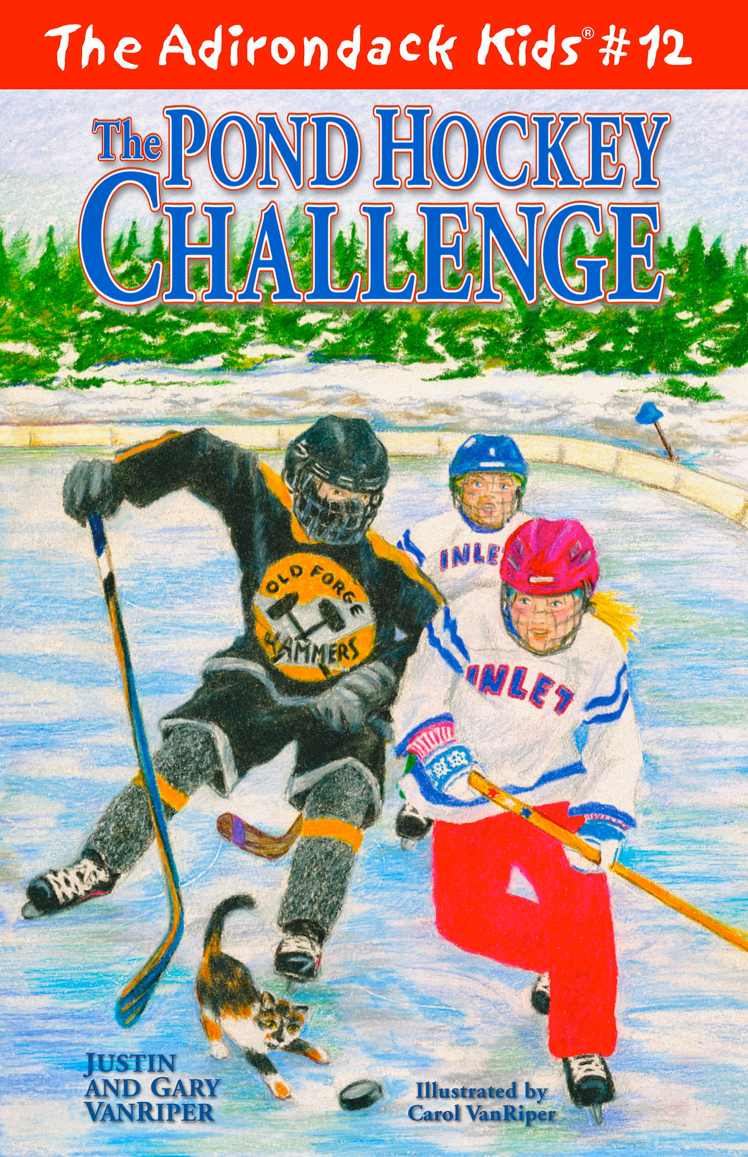 The Adirondack Kids® #12: The Pond Hockey Challenge