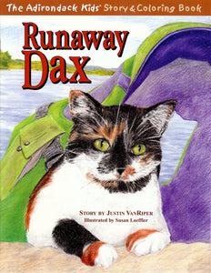 The Adirondack Kids® Coloring Book: Runaway Dax