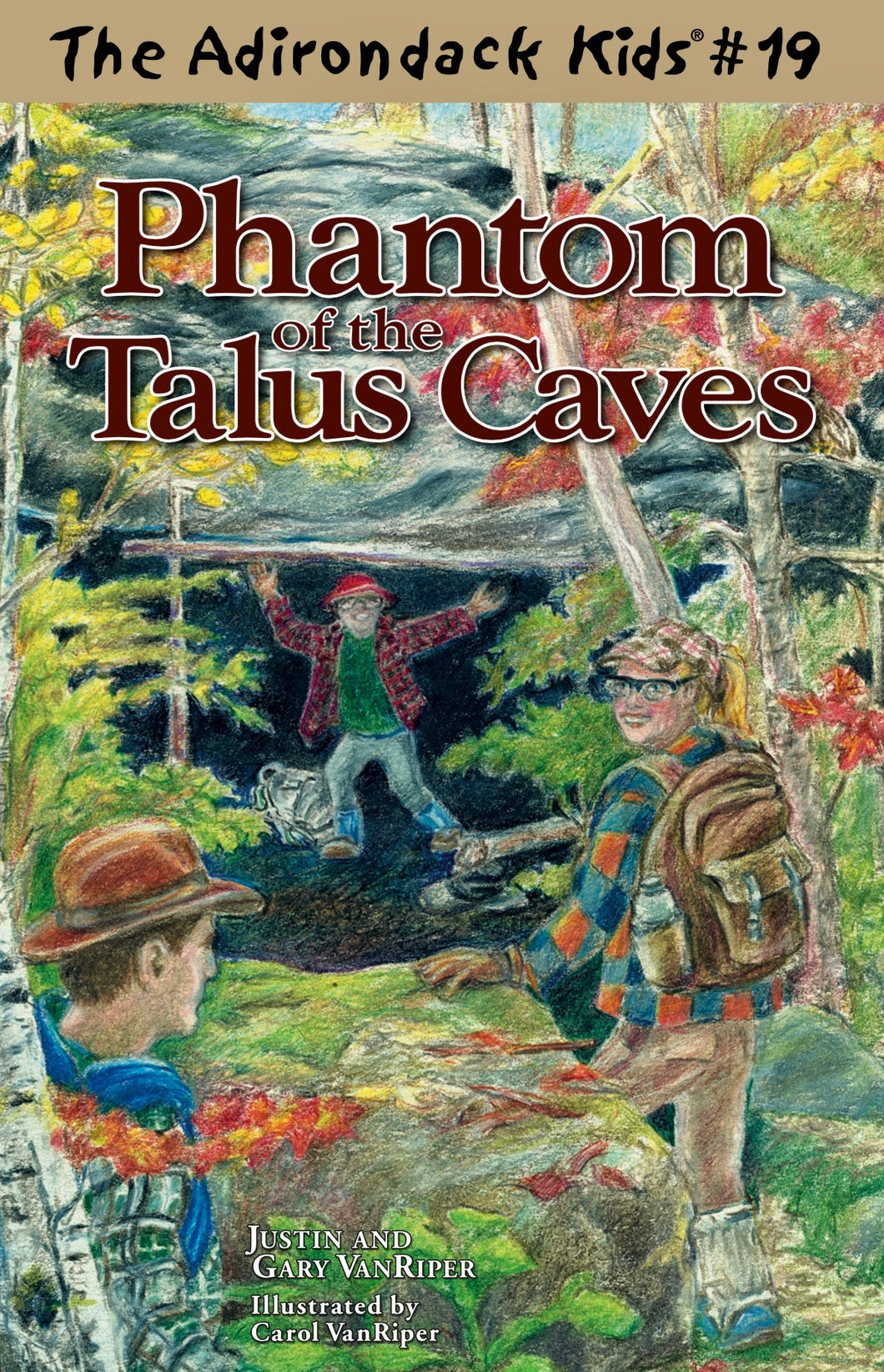 The Adirondack Kids® #19: Phantom of the Talus Caves