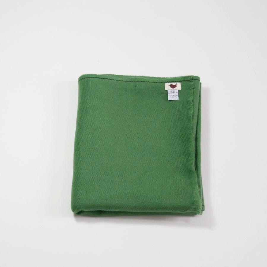 Handwoven Cashmere Shawl Green