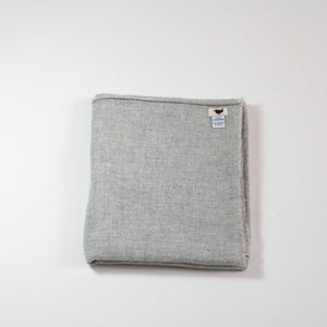 Handwoven Cashmere Shawl Natural Grey