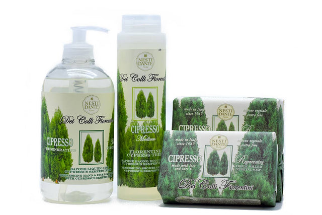 Nesti Dante cypress soap collection