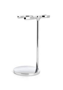 Muhle, CHROME SHAVING SET STAND FOR SOPHIST AND CLASSIC SERIES BRUSHES & RAZORS RHM9 Double Stand