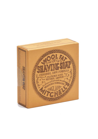 Mitchell's Wool Fat, HARD SHAVING SOAP Refill 125g