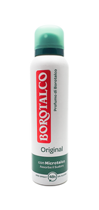 Borotalco, Original Antiperspirant DEODORANT AEROSOL SPRAY 150ml