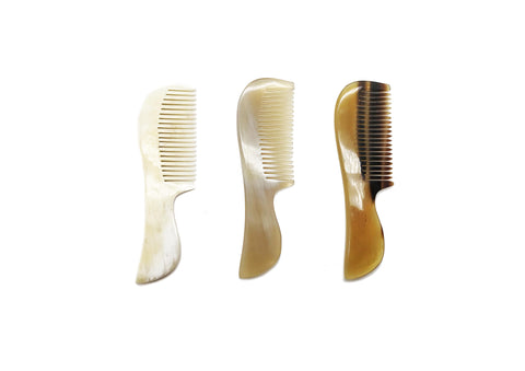 St. James Shaving Emporium, BEARD and MOUSTACHE COMBS in Real Horn