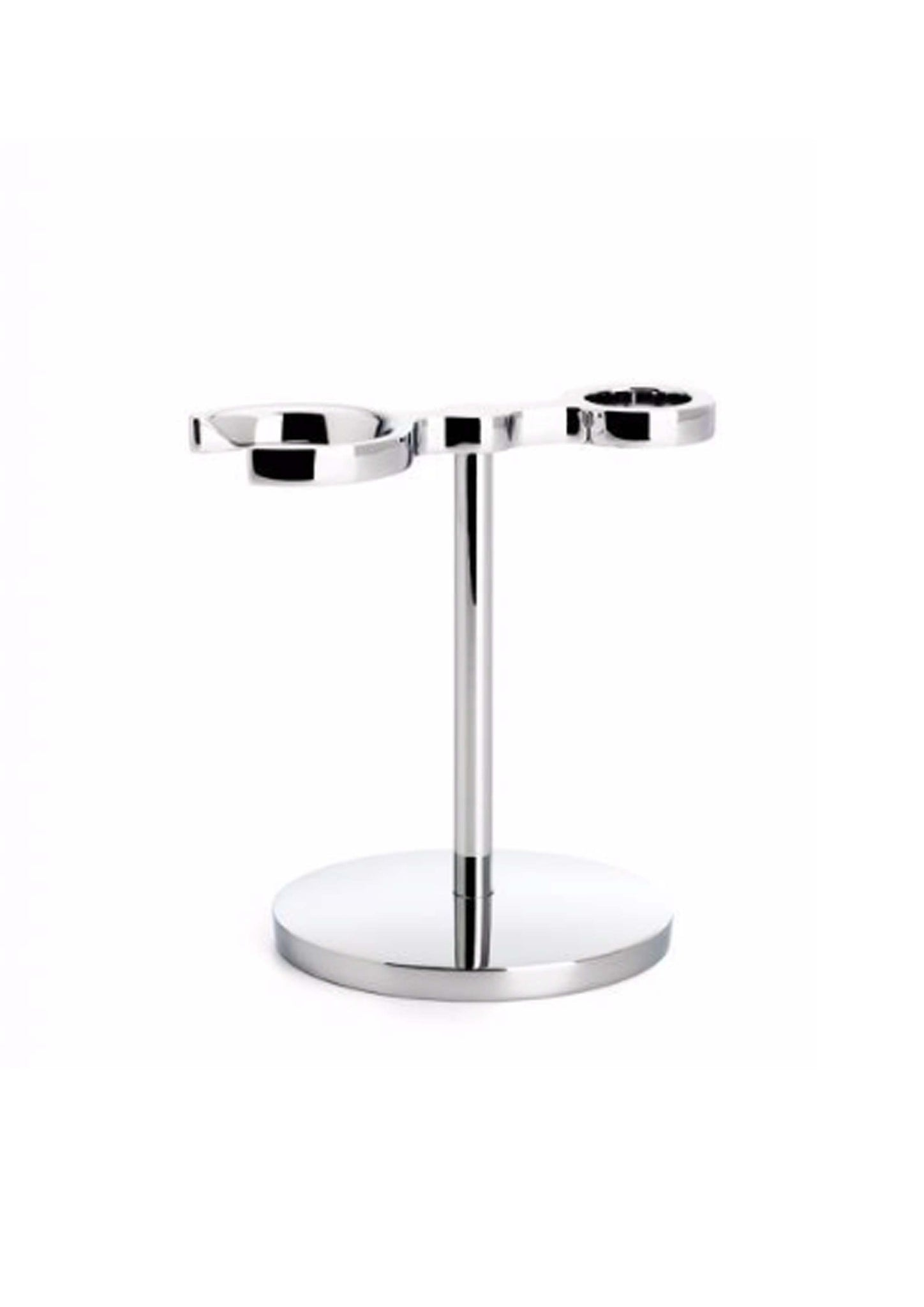 Muhle, CHROME STAND FOR STYLO SHAVING BRUSH & RAZOR RHM70 Double Stand