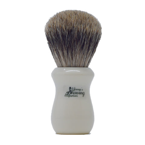 St. James Shaving Emporium, Shaving Brush Silvertip Badger 502