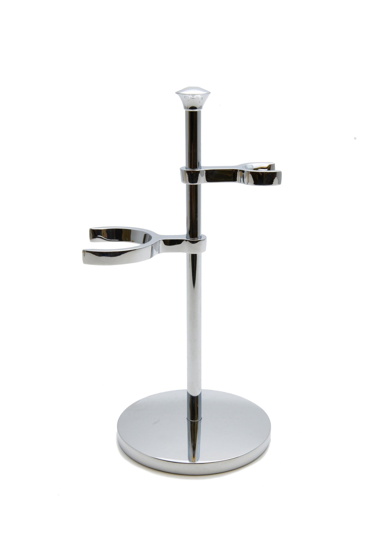Muhle, CHROME SHAVING SET STAND FOR PURIST SERIES BRUSHES & RAZORS RHM50 Double Stand