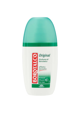 Borotalco, Original Antiperspirant DEODORANT PUMP SPRAY 75ML