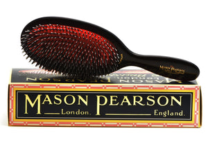 Mason Pearson, HAIR BRUSH Popular Pure Bristles and Nylon BN1