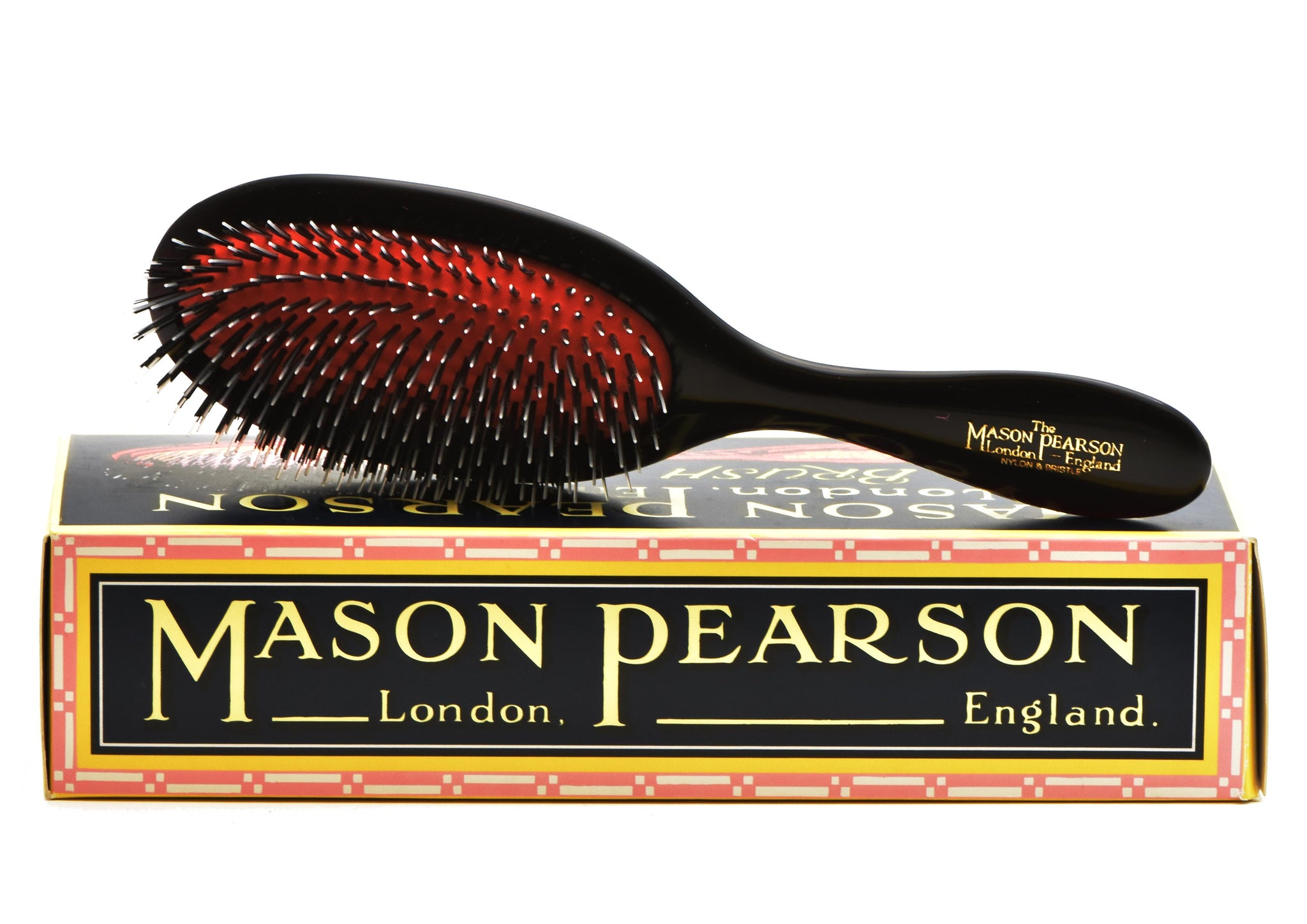 Mason Pearson, HAIR BRUSH Handy Pure Bristles and Nylon BN3