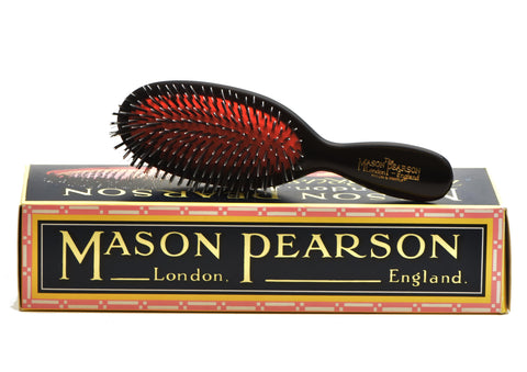 Mason Pearson, HAIR BRUSH Pocket Pure Bristles and Nylon BN4