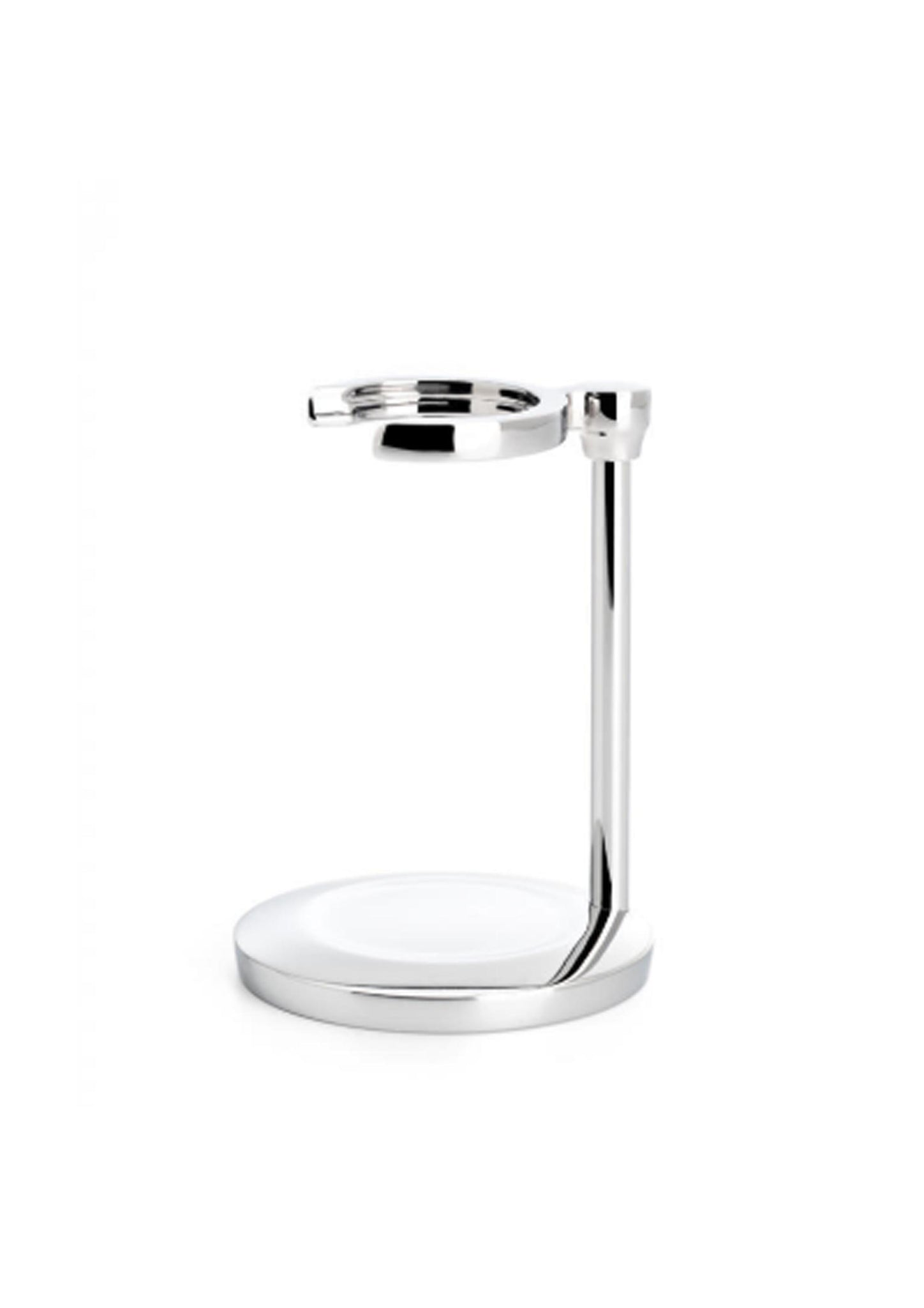 Muhle, CHROME SHAVING BRUSH STAND FOR PURIST SERIES RHM50RP Single Stand