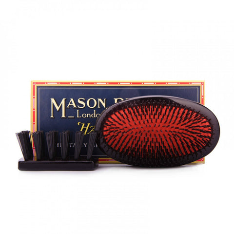 Mason Pearson, HAIR BRUSH Medium Military Pure Bristles B2M