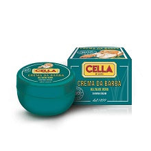 CELLA, Shaving Cream Crema Da Barba, Aloe Vera 150 ML